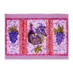 grapes and wine pointillism 5x7 feet area rug in cafepress marketplace