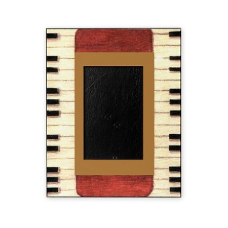 get 40% off this piano keys picture frame for the day who loves music on Father's day