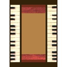 Father's Day gift for musician or music lover dad - piano keys 5x7 feet area rug get 40% off!