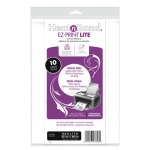 Thermoweb Heat n Bond Lite EZ Print inkjet printer, double sides paper back sheets, 10 sheet pack $7.99
